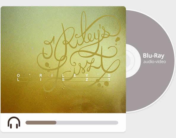 ORileys Liszt blu ray